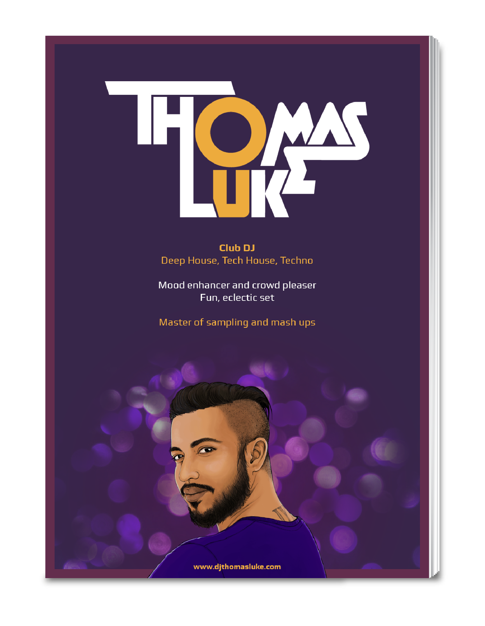DJ Thomas Luke presskit preview - eKat Communication