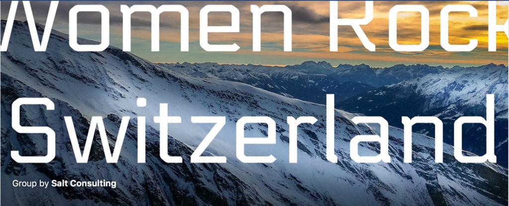 Women Rock Switzerland Facebook group header screenshot - eKat Communication blog
